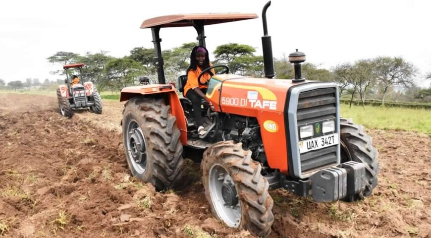 NAADS Trains 560 Tractor Operators in preparation for distribution of tractors