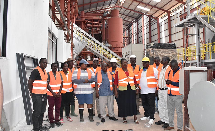 NAADS Board Members monitor sugarcane out-growers projects in Lamwo and Atiak