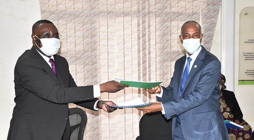 NAADS signs 5 year MOU with Inter Religious Council of Uganda (IRCU) to fight food insecurity and poverty