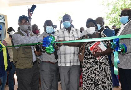 Kiryandongo Farmers Receive Second Grain Store from NAADS & WFP