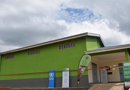 New Grain Store commissioned and handed over to Farmers in Kyegegwa district