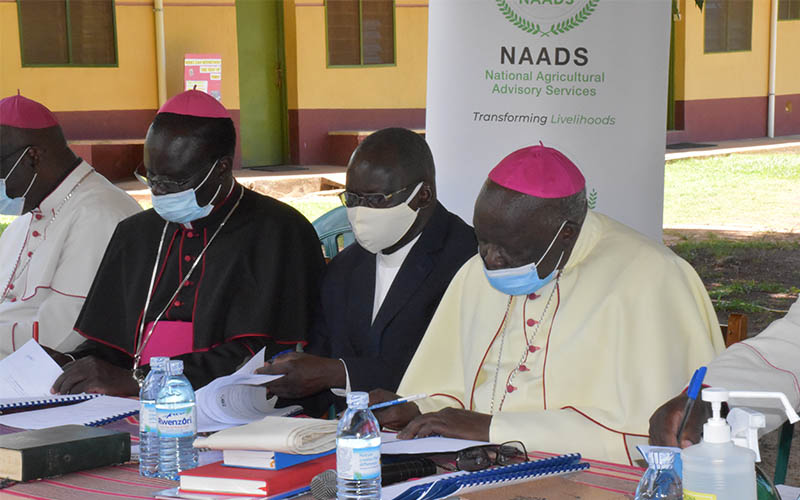 NAADS signs MOU with Gulu Archdiocese to promote Commercialization of Cassava in Northern Uganda